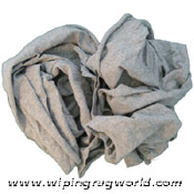 New Grey Knit Wiping Rags 10# Box