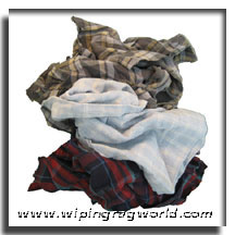 Colored Flannel Rags